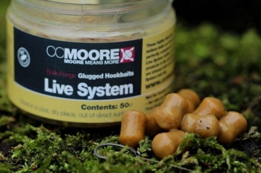 CCMoore Live System Glugged Hookbaits - 10/14 mm - 50St.
