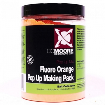 CCMoore Pop Up Making Pack Fluoro Orange 200g