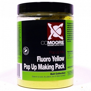 CCMoore Pop Up Making Pack Fluoro Yellow 200g