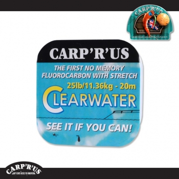 Carp'R'Us - Clearwater Fluorocarbon - 15 lb (20 m)