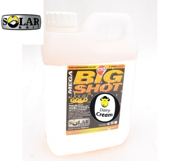 Solar Bait Mega Big Shot - Dairy Cream 1L.