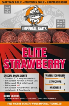 Imperial Fishing IB Carptrack Elite Strawberry Boilie 2 kg / 24mm