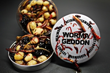 "My-Baits Hi-Natural Black ´n White Tigers ""Wormageddon"" 150ml"