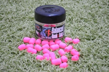 Progressive Baiting Balanced Hookbaits Pink 100g 18/14mm 22/18mm