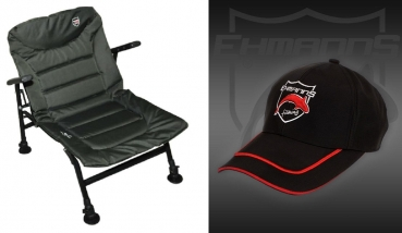 Ehmanns HOT SPOT Small Arm Chair + Baseball Cap