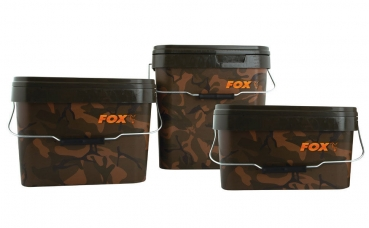 Fox Camo Square Bucket Futtereimer 10L.