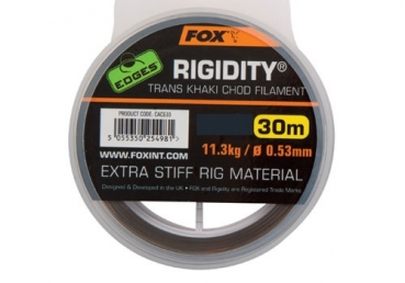 Fox Rigidity Trans Khaki Chod Filament 30lb 30m