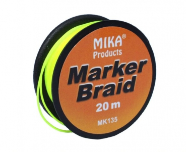 Mika Marker Braid - 20m - yellow