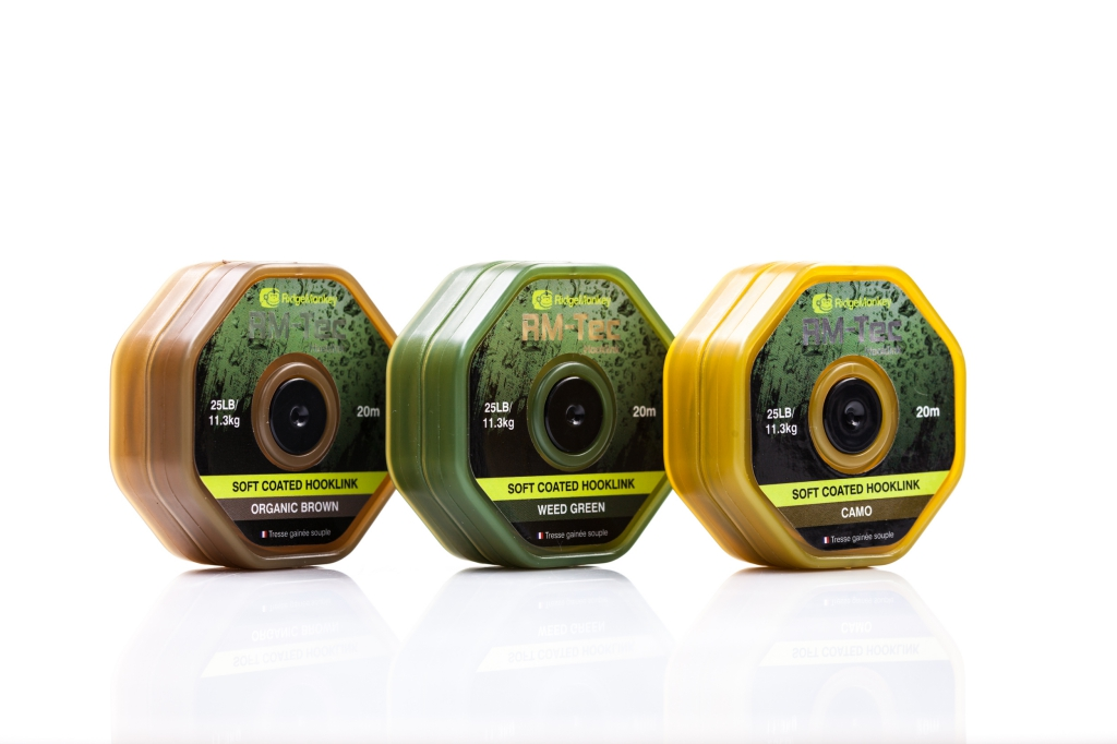 RidgeMonkey RM-TEC Soft Coated Organic Brown 35lb 20m