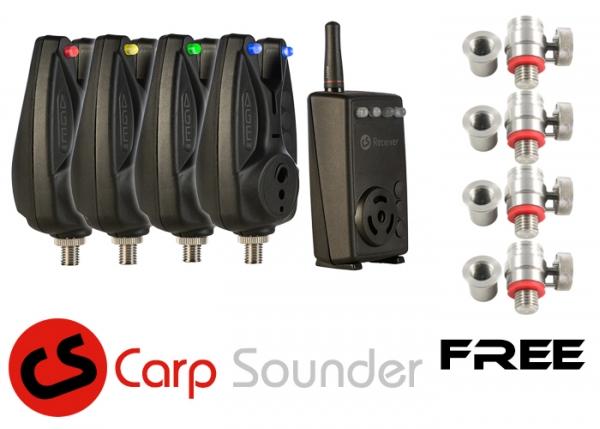 FIL Precision Systems Schnellverschluss Adapter Alu Black Mat
