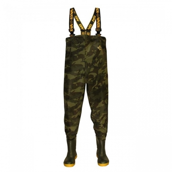 Vass-Tex 355 'Lightweight' Camouflage Waders  - EU42 / UK8