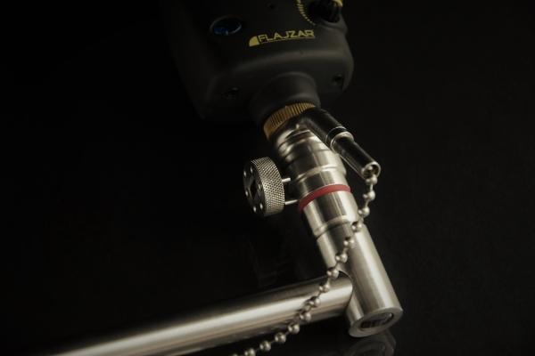 4pcs Aluminiumlegierung Schnellverschluss Adapter Connector Karpfen Angelru ETY