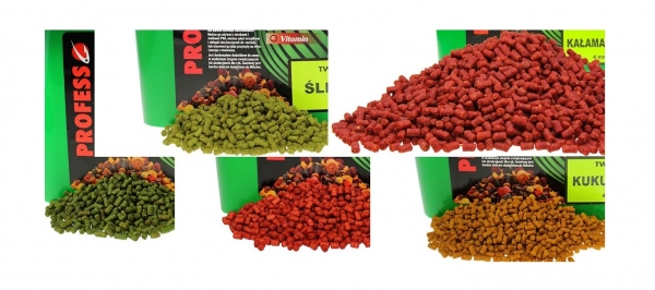 Profess Fishing Carp Signal Pellet Twister Salmon & Krill 4mm 3kg