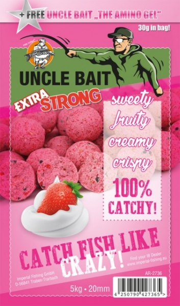Imperial Fishing IB Uncle Bait - Extra Strong - 5 kg / 16 mm