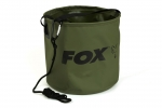 Fox Collapsible Water Bucket - inc. Drop Cord & Clip 10 L