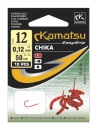 Kamatsu CHIKA Vorfachhaken Bloodworm Gr 14 / 0,10 mm